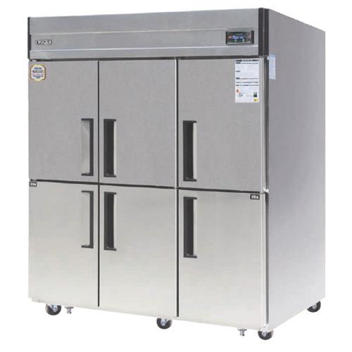 65박스 디지털 간접 냉각 방식 에버젠 냉동 518L 냉장 1148L
