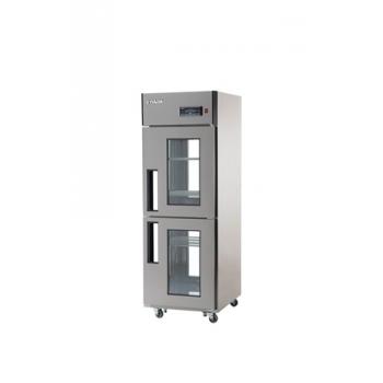 25박스 양문형 냉장고 간접 냉각 방식 에버젠 냉장 510L 2GLASS DOOR