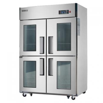 45박스 양문형 냉장고 간접 냉각 방식 에버젠 냉장 1065L 2GLASS DOOR