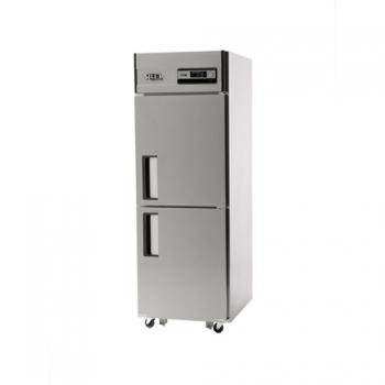 25박스 아날로그 직접 냉각 냉동 257L 냉장 257L 내부 스텐