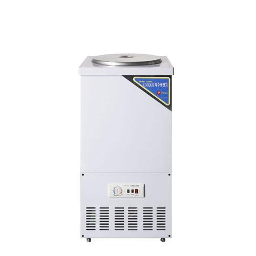 육수 2말 외통 아나로그 냉장고 43L