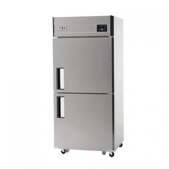 30박스 디지털 직접 냉각 냉동 329L 냉장 329L 내부 스텐