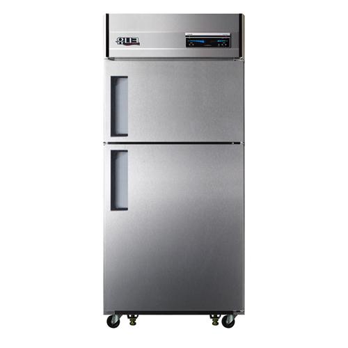 30박스 디지털 직접 냉각 냉동 218L 냉장 456L 2도어 메탈릭강판