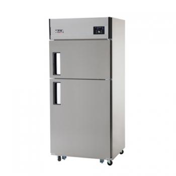 30박스 디지털 직접 냉각 냉동 218L 냉장 456L 2도어 내부 스텐