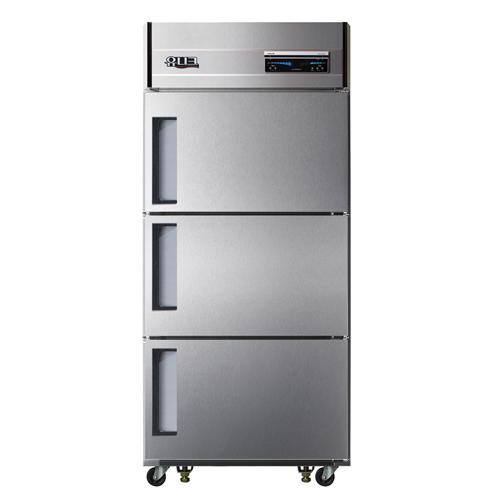 30박스 디지털 직접 냉각 냉동 218L 냉장 456L 3도어 메탈릭강판