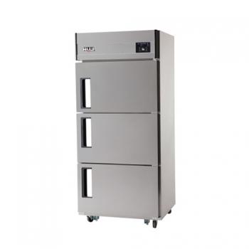 30박스 디지털 직접 냉각 냉동 218L 냉장 456L 3도어 내부 스텐