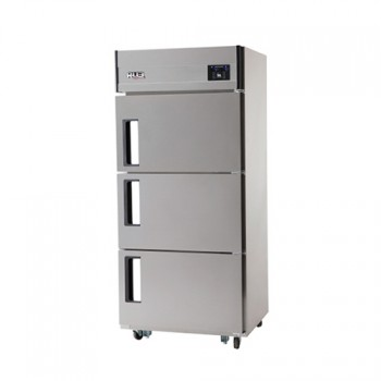 30박스 디지털 직접 냉각 냉동 218L 냉장 456L 3도어 올 스텐