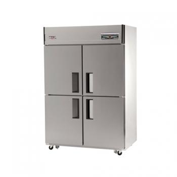45박스 디지털 직접 냉각 수평형 냉동 540L 냉장 540L 내부 스텐