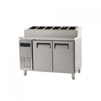 토핑 테이블 냉장고 1200 에버젠 스텐 냉장 315L