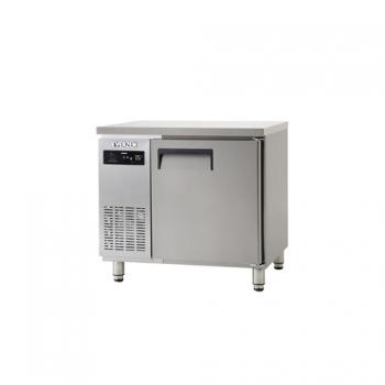 냉동 테이블 900 에버젠 스텐 냉동 166L