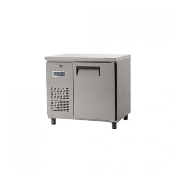 냉동 테이블 900 디지털 냉동 188L 내부 스텐