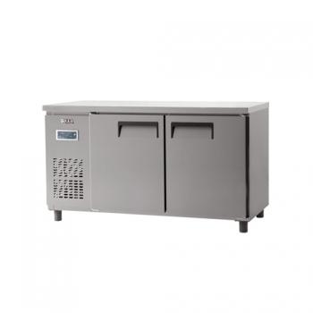 냉동 테이블 1500 디지털 직냉식 냉동 387L 내부 스텐