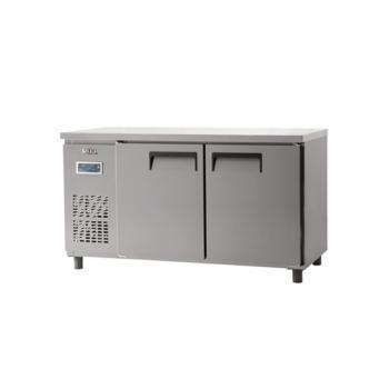 냉장 테이블 1500 디지털 직냉식 냉장 387L 내부 스텐