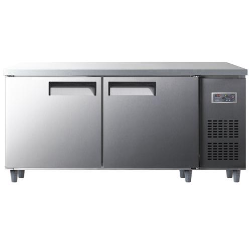 냉동 냉장 테이블 1800 디지털 냉동 249L 냉장 249L 내부 스텐