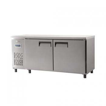 냉장 테이블 1800 디지털 직냉식 냉장 498L 내부 스텐