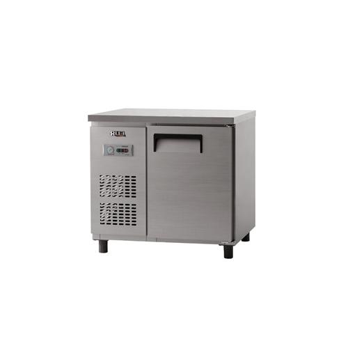 냉장 테이블 900 아날로그 직냉식 냉장 188L 내부 스텐