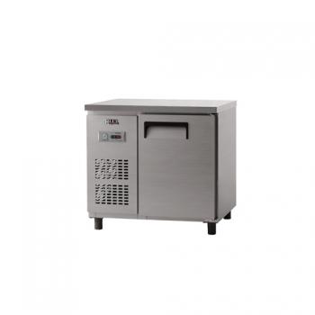 냉동 테이블 900 아날로그 직냉식 냉동 188L 올 스텐