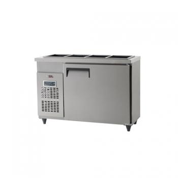 받드 냉장고 1200 x 500 디지털 냉장 204L 올 스텐