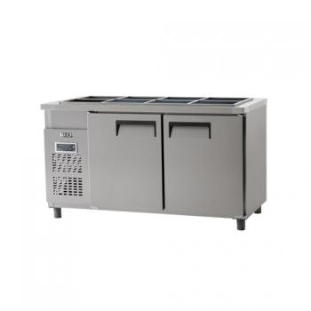 받드 냉장고 1500 디지털 냉장 434L 내부 스텐