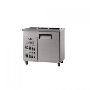 받드 냉장고 900 x 500 아날로그 냉장 129L 내부 스텐