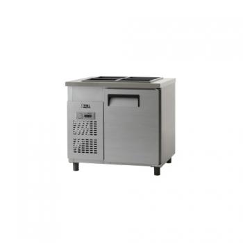 받드 냉장고 900 x 700 아날로그 냉장 199L 내부 스텐