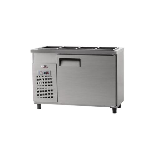 받드 냉장고 1200 x 500 아날로그 냉장 204L 내부 스텐