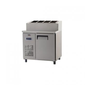 토핑 테이블 냉장고 900 내부 스텐 디지털 냉장 253L