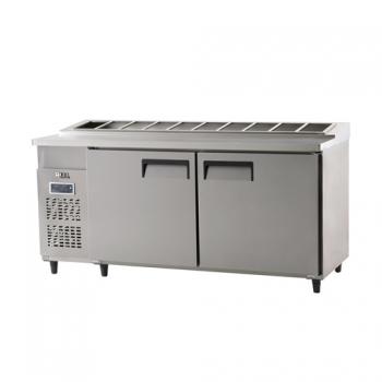 김밥 테이블 냉장고 1800 디지털 냉장 626L 내부 스텐
