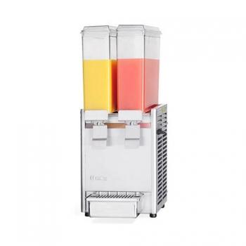 냉 음료 디스펜서 주스 냉각기 8L X 2