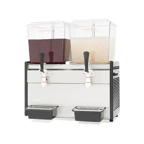 냉 음료 디스펜서 주스 냉각기 18L X 2