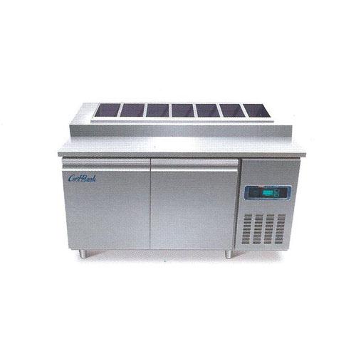 콜드 토핑 테이블 냉장고 1200 직냉식