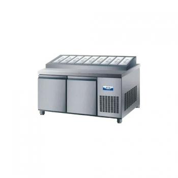 콜드 토핑 테이블 냉장고 1800 간냉식