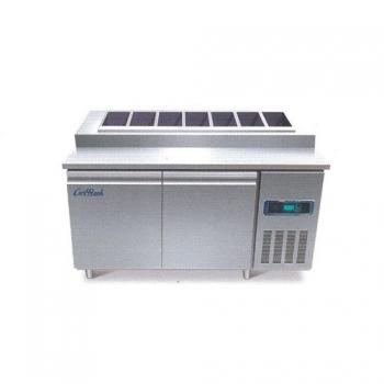 콜드 토핑 테이블 냉장고 2100 직냉식