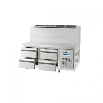 콜드 서랍식 토핑 테이블 냉장고 1500 직냉식