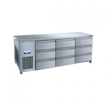 콜드 높은 서랍식 테이블 냉장고 1800 직냉식