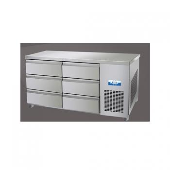 콜드 높은 서랍식 테이블 냉장고 2100 직냉식