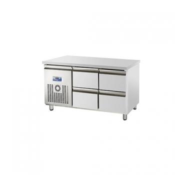 콜드 낮은 서랍식 테이블 냉장고 간냉식 1500