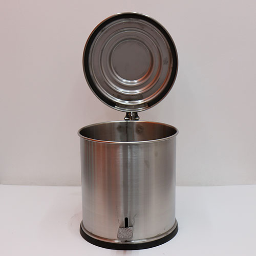 페달형 스텐 휴지통 50L