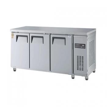 고급형 보냉테이블 1800 직접 냉각 냉동 485L 올 스텐