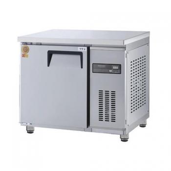 고급형 보냉테이블 900 간접 냉각 냉동 159L 올 스텐