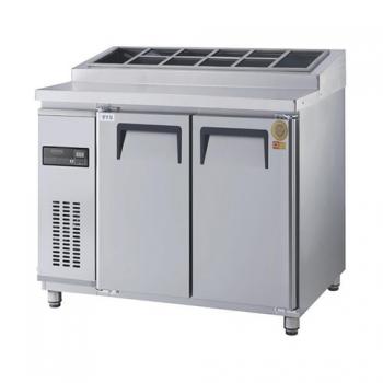 고급형 토핑테이블 1200 간접 냉각 냉장 356L 올 스텐
