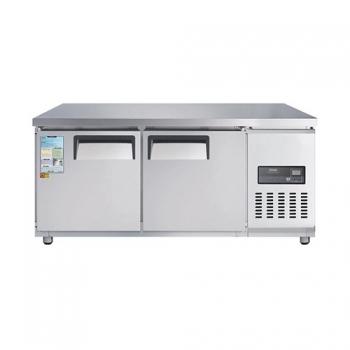 고급형 낮은 보냉테이블 1500 직접 냉각 냉동 240L 올 스텐