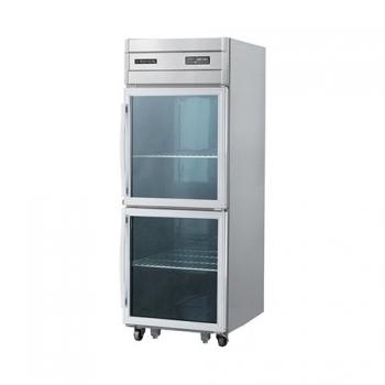 25박스 숙성고 디지털 직접 냉각 냉장 530L 유리문