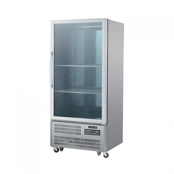 30박스 숙성고 디지털 직접 냉각 냉장 650L 유리문
