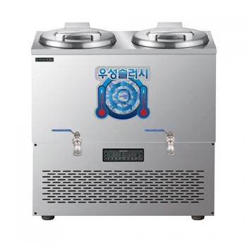 육수 쌍통 슬러시 냉장고 60L