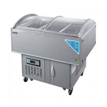 반찬 쇼케이스 아날로그 냉장 170L
