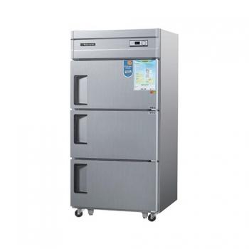 30박스 아날로그 직접 냉각 냉동 710L 3도어 메탈