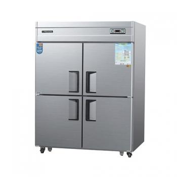 45박스 아날로그 직접 냉각 수평형 냉동 560L 냉장 560L 내부 스텐