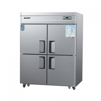 45박스 아날로그 직접 냉각 수직형 냉동 560L 냉장 560L 내부 스텐
