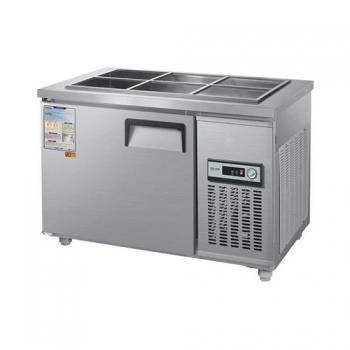 찬밧드 냉장고 1200 아날로그 직접 냉각 냉장 190L 올 스텐